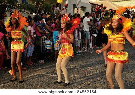 Dancers In Carnival