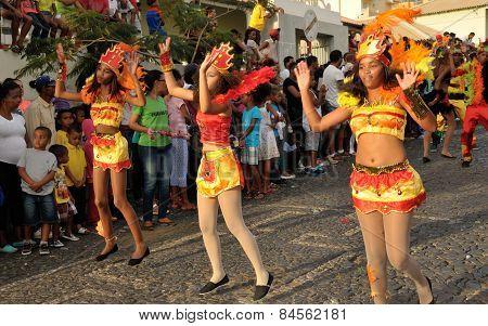 Dancing Away At Carnival