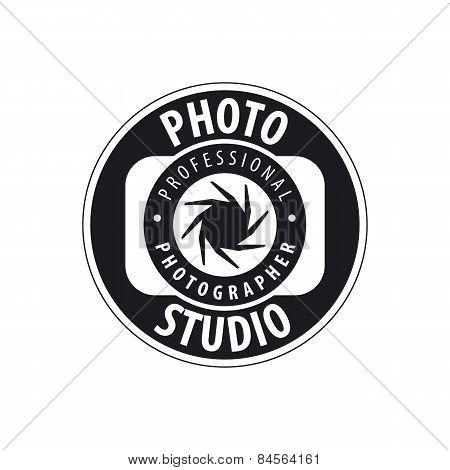Round Vector Icon For Studio Photography