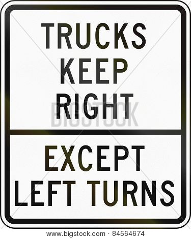 Trucks Keep Right