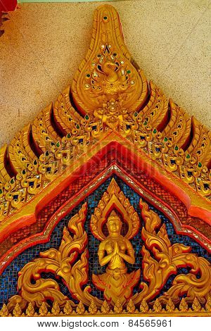 Kho Samui Bangkok In Thailand Incision Of The Buddha