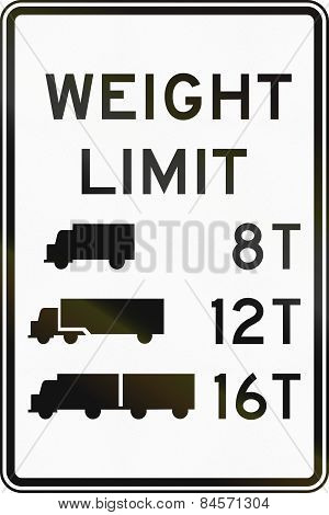 Truck Weight Limits