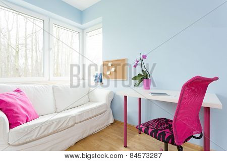 Modest Girl's Apartment