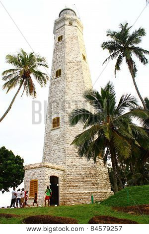 Lighthouse in Dondra, Sri Lanka