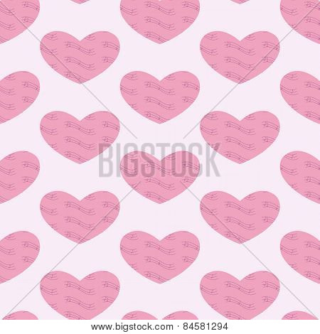 Musical Hearts Background