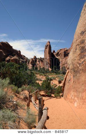 Desert View - Arches