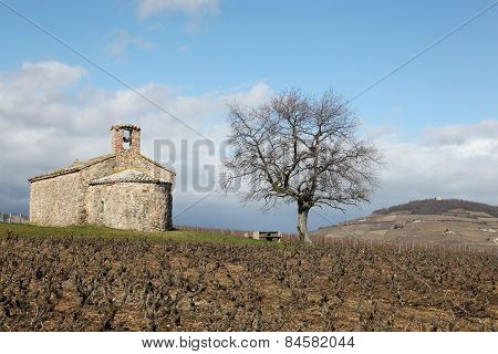 Chapel Saint-Pierre in Beaujolais