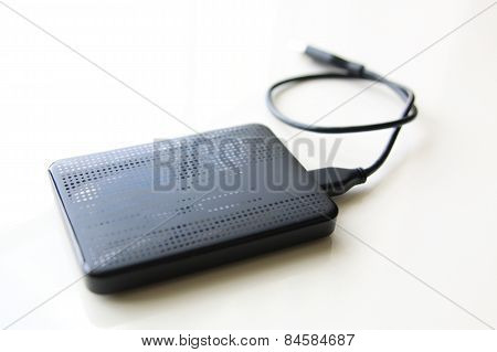 Portable External Hard Disk Drive With Usb Cable