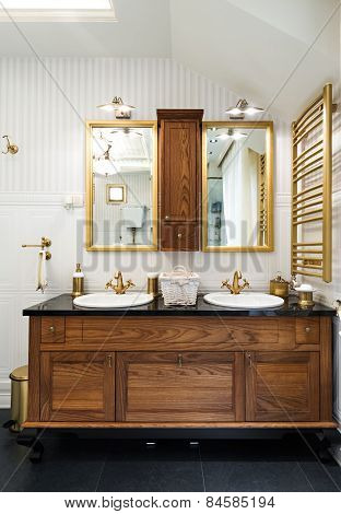 Interior Of A Luxury Bathroom