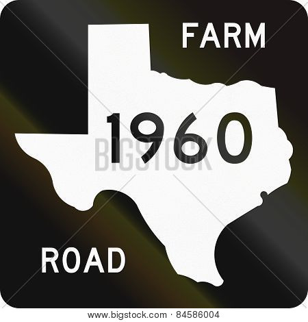 Farm-to-market-road Shield