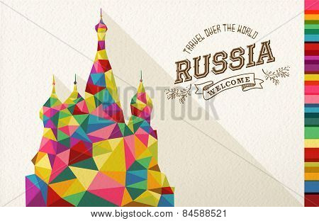 Travel Russia Landmark Polygonal Monument