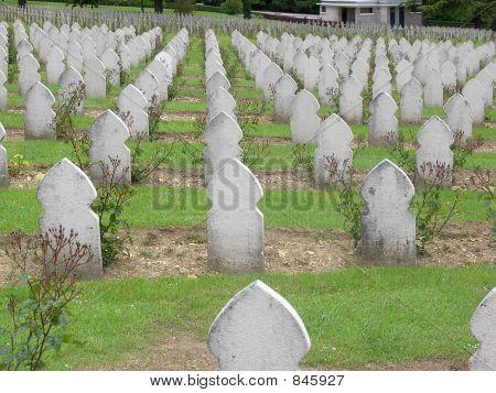 Muslim Graves in Verdun, France