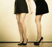 picture of black heel  - Female fashion - JPG