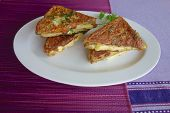 image of french toast  - French Toast Bread with Gouda Cheese and Herb - JPG