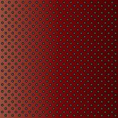 stock photo of metal grate  - Concept conceptual red abstract metal stainless steel aluminum perforated pattern texture mesh background as metaphor to industrial - JPG