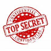 Damaged Seal - Top Secret - Confidential poster