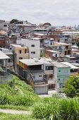 foto of illegal  - Poverty in the favela of Sao Paulo city - JPG