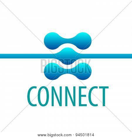 Vector Logo Contact Network Connection