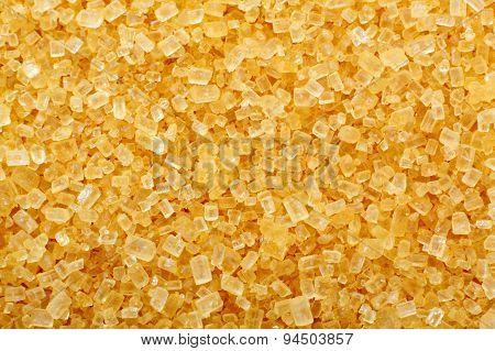 Brown Cane Sugar Crystals