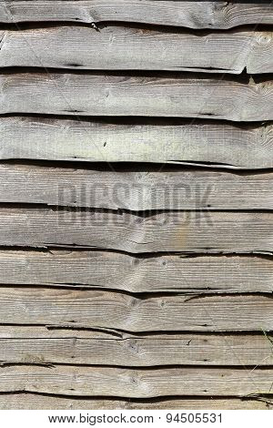 Weathered Wooden Fence Panels Background