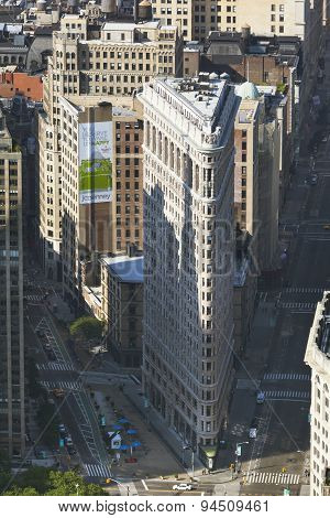 Manhattan Flatiron Building, Editorial