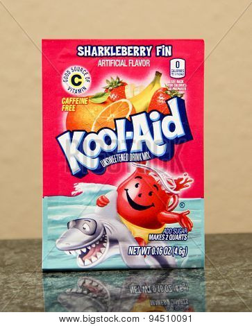 Package Of Sharkleberry Fin Kool-aid