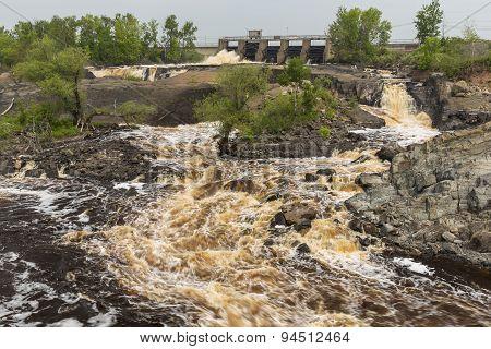 St. Louis River Dam Scenic