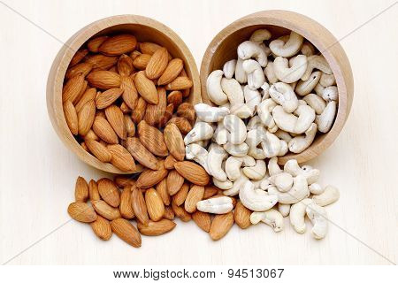 Almonds,cashew Nuts, Pistachio