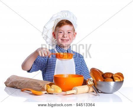 Little baker.