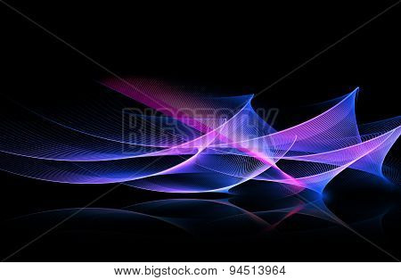 Digital art abstract composition suitable for background