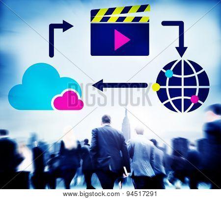 Media Computing Mlutimedia Content Sharing Concept