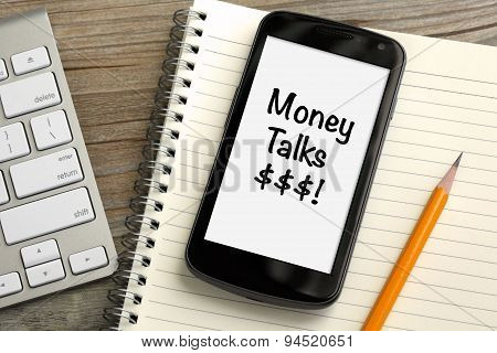 money talks concept