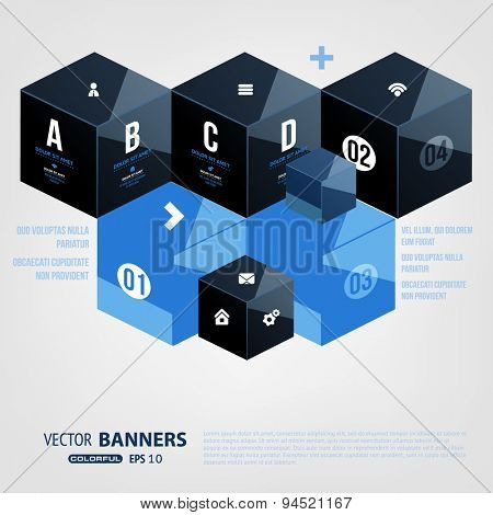 Business Design can be used for Flyer, Brochure Design Templates, Workflow Layout, Number Options and Processes Steps. Mobile Technologies, Applications and Online Services Infographic Concept.