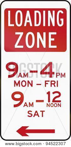 Loading Zone In Australia