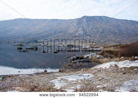 View of Lough Aconeera