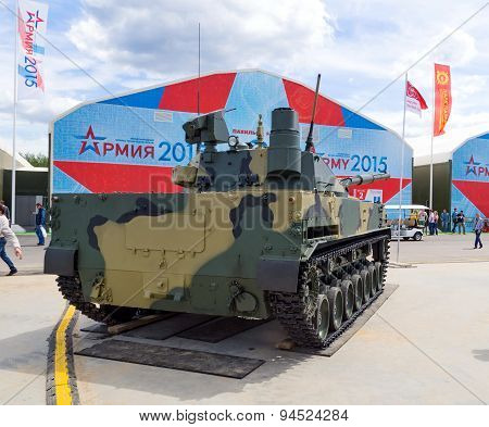 Self-propelled tank destroyer 2S25M Sprut-SDM1