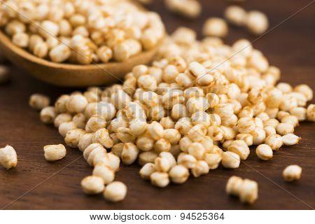 Quinoa Popping