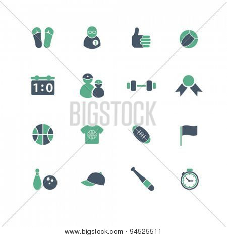 sport, fitness, gym isolated icons, signs, illustrations on white background for website, internet, mobile application, vector