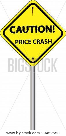 Sign Price Crash