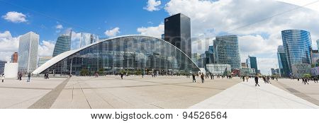La Defense The Major Business District Of The Paris, France