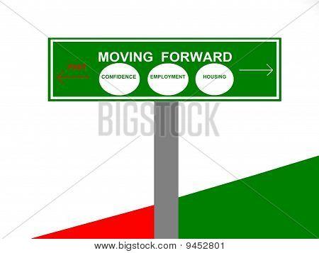 Economy Sign