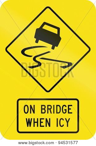 Slip Danger On Bridge When Icy In Australia