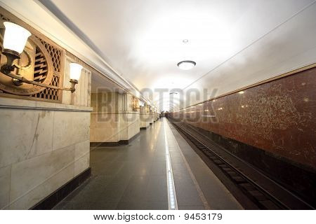 "National Architecture Monument - Metro Station ""elektrozavodskaya"""