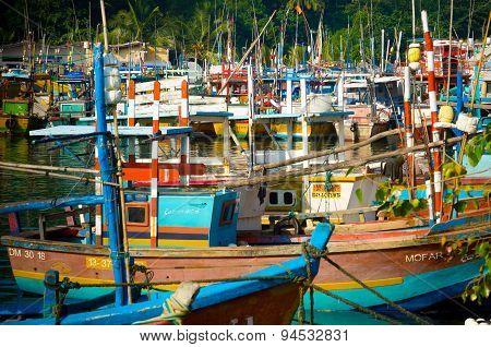 Boats In Sri Lanka
