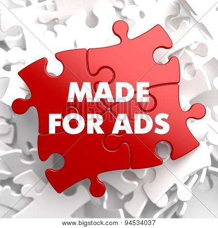 Made for Ads on Red Puzzle.