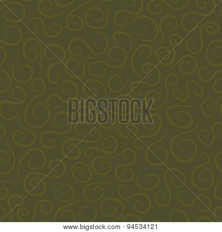 Seamless Pattern With Curves
