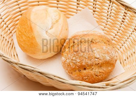 buns in the basket