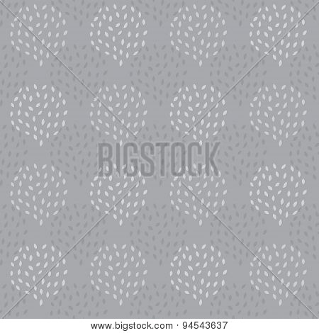 Vector Abstract Texture Drops Seamless Pattern