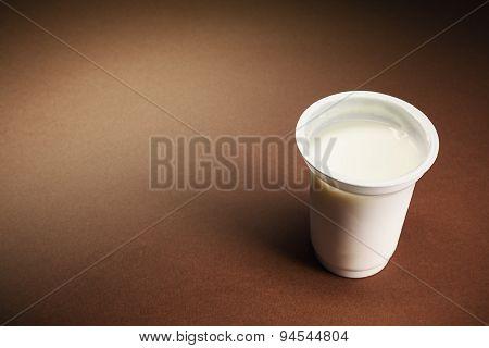 Glass Of Yogurt