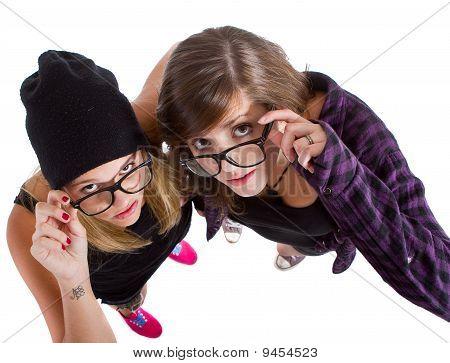 Teenage nerds